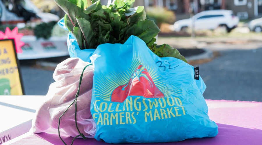 South Jersey Farmers' Market Offers a Free Reusable Bag Share Program