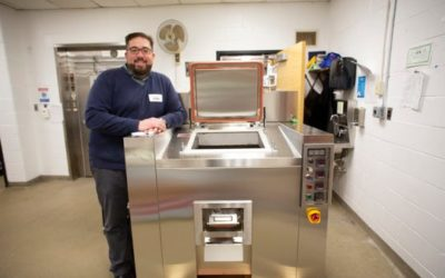Leonia elementary school first in the state to cut cafeteria waste with food dehydrator