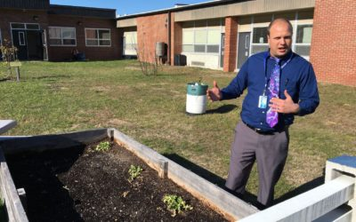 Teacher Sows Seeds of Sustainability: Lessons From The Garden
