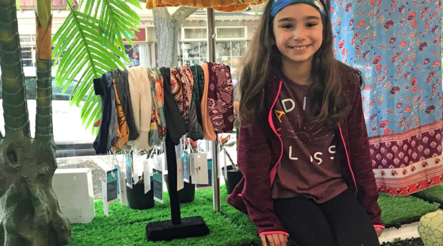 Meet Olivia Bellace, an 11-year-old Entrepreneur Saving Our Oceans, One Headband at a Time