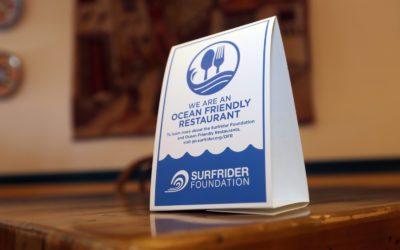 Ocean Friendly Restaurants Offer Good Food Sustainably