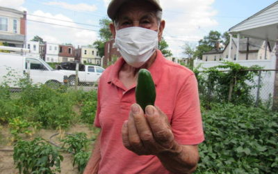 Urban Gardening Lessons From a 94-Year-Old East Camden Resident