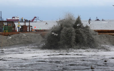 Beach Building Stakes Rise with Sea Level
